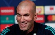 Zidane quả quyết: 'Tương lai của cậu ấy tại Real sẽ rất đáng gờm!'