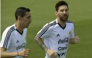 Di Maria: 'Bài phát biểu của Messi lấy đi nước mắt tuyển Argentina'