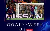 NÓNG! Công thần Barca lập siêu phẩm đẹp nhất vòng 2 Champions League