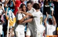 Đây, phản ứng của Zidane sau khi chứng kiến Hazard 'thông nòng'
