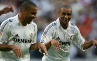 Roberto Carlos: 'Tôi ngủ với Ronaldo còn nhiều hơn với vợ tôi!'