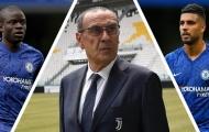 Xây dựng đế chế Sarri ball, Juve muốn 'bỏ giỏ' 2 công thần Chelsea