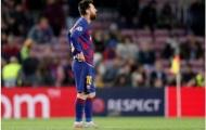 Không cứu được Barca, Messi biểu hiện cảm xúc khó tả trên sân