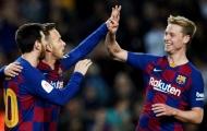 Thắng 5 sao, De Jong bật mí bí mật giúp Barca trở thành 'Ông kẹ'