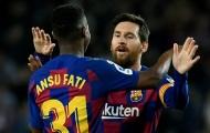 Lập cú đúp, thần đồng Barca nói một điều về Messi khiến fan 'phát cuồng'