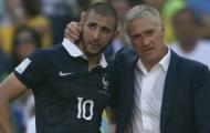 Nasri: 'Tôi không hiểu vì sao Benzema không được đá World Cup'