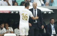 Tức nước vỡ bờ, James tìm gặp Zidane nói chuyện 'phải quấy'