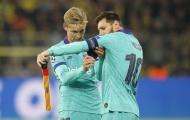 Messi nhất quyết muốn rời đi, De Jong nói gì?