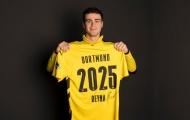CHÍNH THỨC! Dortmund gia hạn hợp đồng thành công với Giovanni Reyna