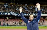 Chủ tịch Napoli cạn lời với Higuain