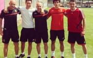 Ander Herrera chính thức tập luyện cùng Real Zaragoza