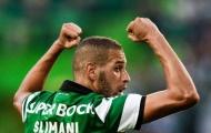 Chi 25 triệu bảng, Leicester City chạm một tay vào tiền đạo Sporting Lisbon