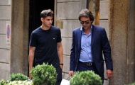 Alvaro Morata và người đại diện đã có mặt ở Italia