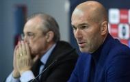 Chỉ 1 cầu thủ Real Madrid chưa nói lời tri ân HLV Zidane