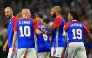 Zidane, Henry và đồng đội đánh bại đội bóng của HLV Wenger