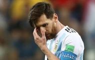 Messi phản ứng thế nào với sai lầm tai hại của Caballero?