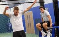 Harry Maguire cười rạng rỡ trước tin đồn đến Man Utd