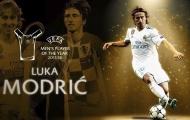 UEFA công bố số điểm của top 10 cầu thủ xuất sắc nhất: Ronaldo kém xa Modric