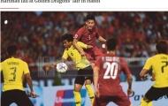 Thua tâm phục khẩu phục Việt Nam, báo Malaysia 'giật tít' rất kêu