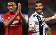 Chờ Martial sánh ngang Cantona, Nistelrooy và Ronaldo