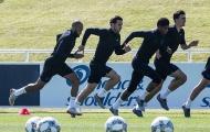 Chỉ 12 cầu thủ góp mặt trong buổi tập đầu tiên của tuyển Anh