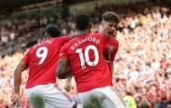 Hàng công Man Utd ở đâu trong top 6 Ngoại hạng Anh?