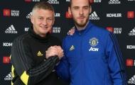 Ed Woodward và Solskjaer thuyết phục De Gea ở lại Man Utd như thế nào?