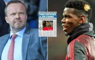 Ed Woodward chốt một cái tên có thể thay thế Paul Pogba
