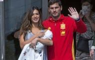 Casillas bỏ tập, vào bệnh viện đón con trai