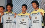3 bản hợp đồng người Thái của Man City 11 năm trước đang ở đâu?