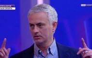 Bị cấm bàn luận về M.U, Mourinho vẫn có cách 'đá xéo' đội bóng cũ