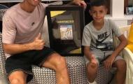 Ronaldo con ghi 7 bàn thắng trong một trận cho đội trẻ Juventus