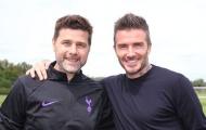 Vì sao David Beckham lại đến thăm buổi tập của Tottenham?