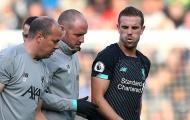 Đội trưởng Liverpool nguy cơ nghỉ lên tuyển vì chấn thương