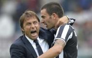 Trước đại chiến Inter - Juventus, Bonucci: 'Chúng tôi cần 1 HLV như Conte'