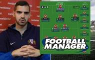 Được CLB chuyên nghiệp tuyển dụng sau khi gửi CV Football Manager