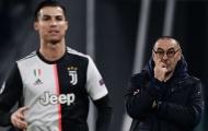 Sarri thừa nhận Ronaldo không thể chơi cùng cặp tiền đạo cũ của Juventus