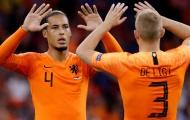 'Dù có dự bị 8 hay 10 trận, De Ligt vẫn là đối tác số 1 của Van Dijk'