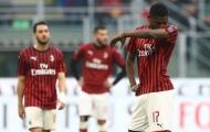 Zlatan vắng mặt, AC Milan đứt mạch toàn thắng