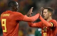 Hazard buộc tội Lukaku 'mất tích' trong suốt hiệp 1 trận đấu với Panama