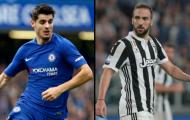 NÓNG: Juve từ chối thỏa thuận trao đổi Higuain và Morata