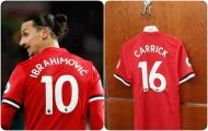 Man Utd đang bỏ trống những số áo nào?