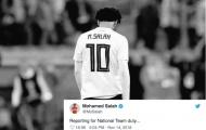 Salah đăng dòng trạng thái khó hiểu, tiếp tục có thêm một 'Messi'?