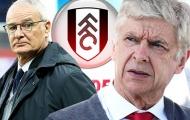 Tiết lộ: Trước khi mời Ranieri, Fulham đã bị huyền thoại Arsenal từ chối