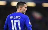Vì sao Hazard phải đá tiền đạo cắm trước Man City?