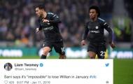 'Không đời nào anh ấy sẽ rời Chelsea vào tháng Giêng'