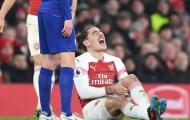XÁC NHẬN: Chấn thương đặc biệt nghiêm trọng, sao Arsenal nghỉ dài hạn