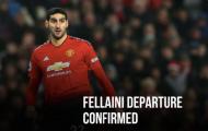 CHÍNH THỨC: Fellaini đến Trung Quốc, nhận lương cao hơn Sanchez, Bale