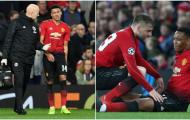 NÓNG: Man Utd thiệt quân nghiêm trọng sau trận PSG