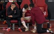 NÓNG: Arsenal tiếp tục bị ám ảnh với tổn thất ở hàng phòng ngự